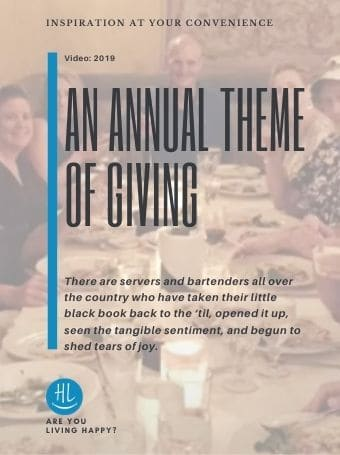 An Annual Theme of Giving