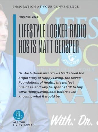 Lifestyle Locker Radio Hosts Matt Gersper