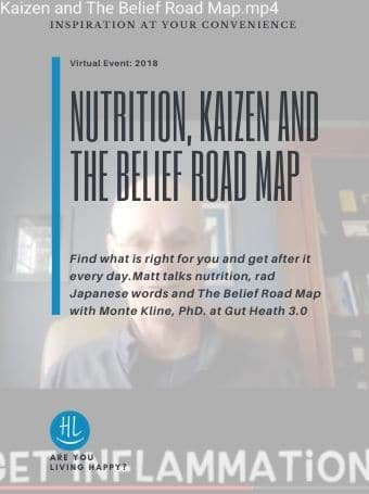 Nutrition, Kaizen and The Belief Road Map